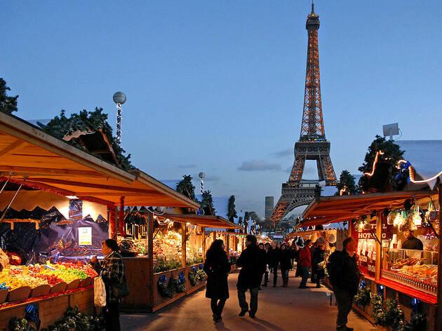 40 marchés de Noël féériques à Paris