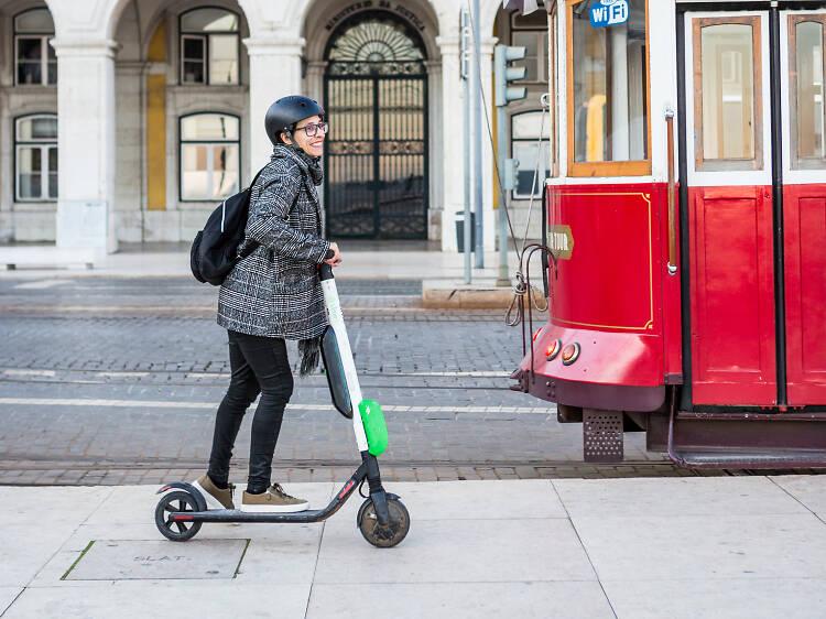 As opções de mobilidade urbana para passeios amigos do ambiente em Lisboa