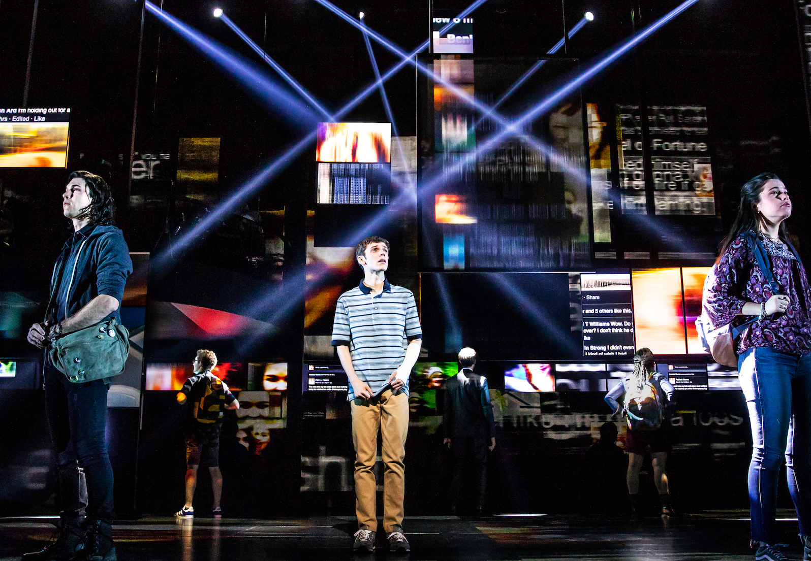 A $25 ticket lottery for Dear Evan Hansen at the Curran is now open!