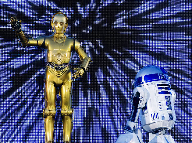Do not reuse. C-3po - Disneyland Paris Legends of the Force campaign.