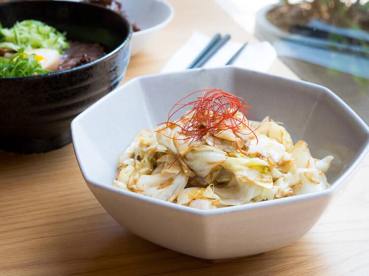 Cabbage at Hunan Slurp