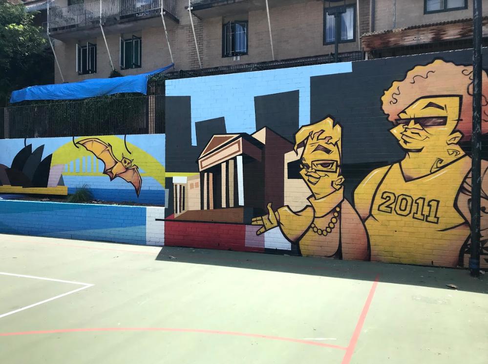 Woolloomooloolife mural 2018