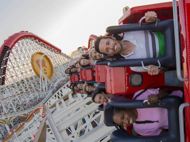 The Incredicoaster (Photograph: Courtesy Joshua Sudock/Disneyland Resort)