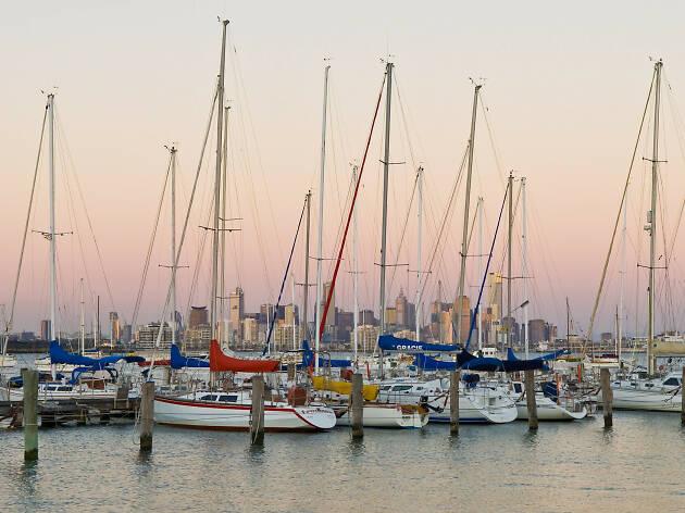 Sunset Williamstown Pier