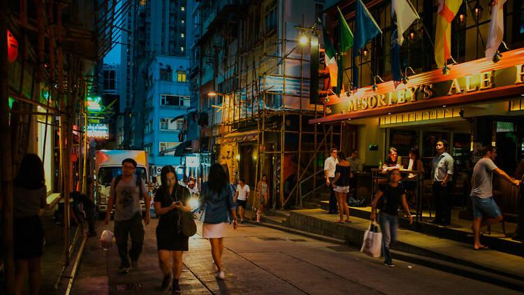 Late night Staunton Street