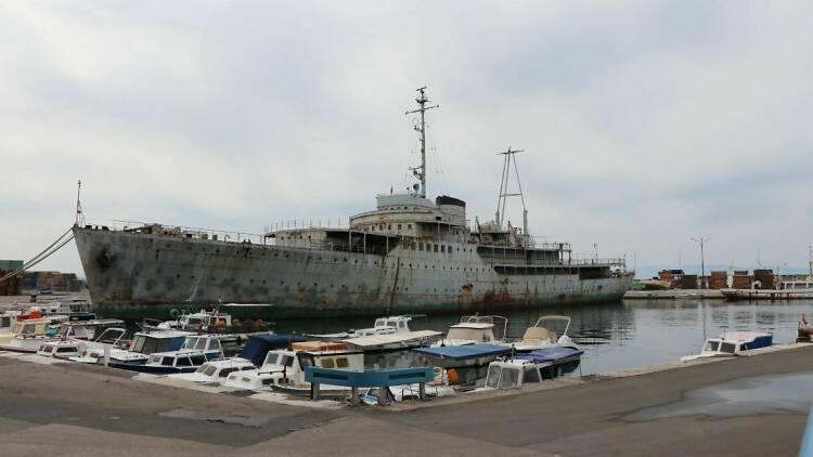 Tito's yacht Galeb