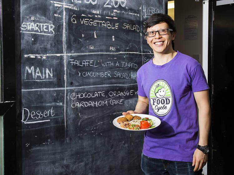 Chris Sim, FoodCycle volunteer