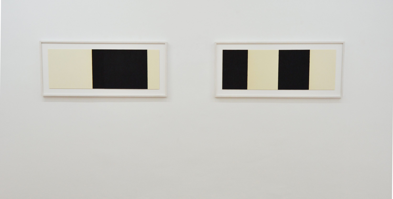 Horizontal reversal. Richard Serra