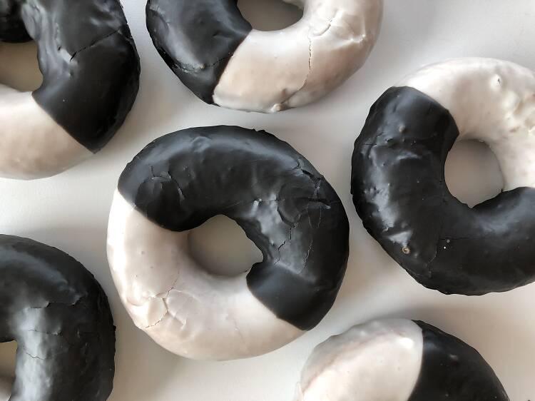Black & White Doughnuts at DoughnutPlant