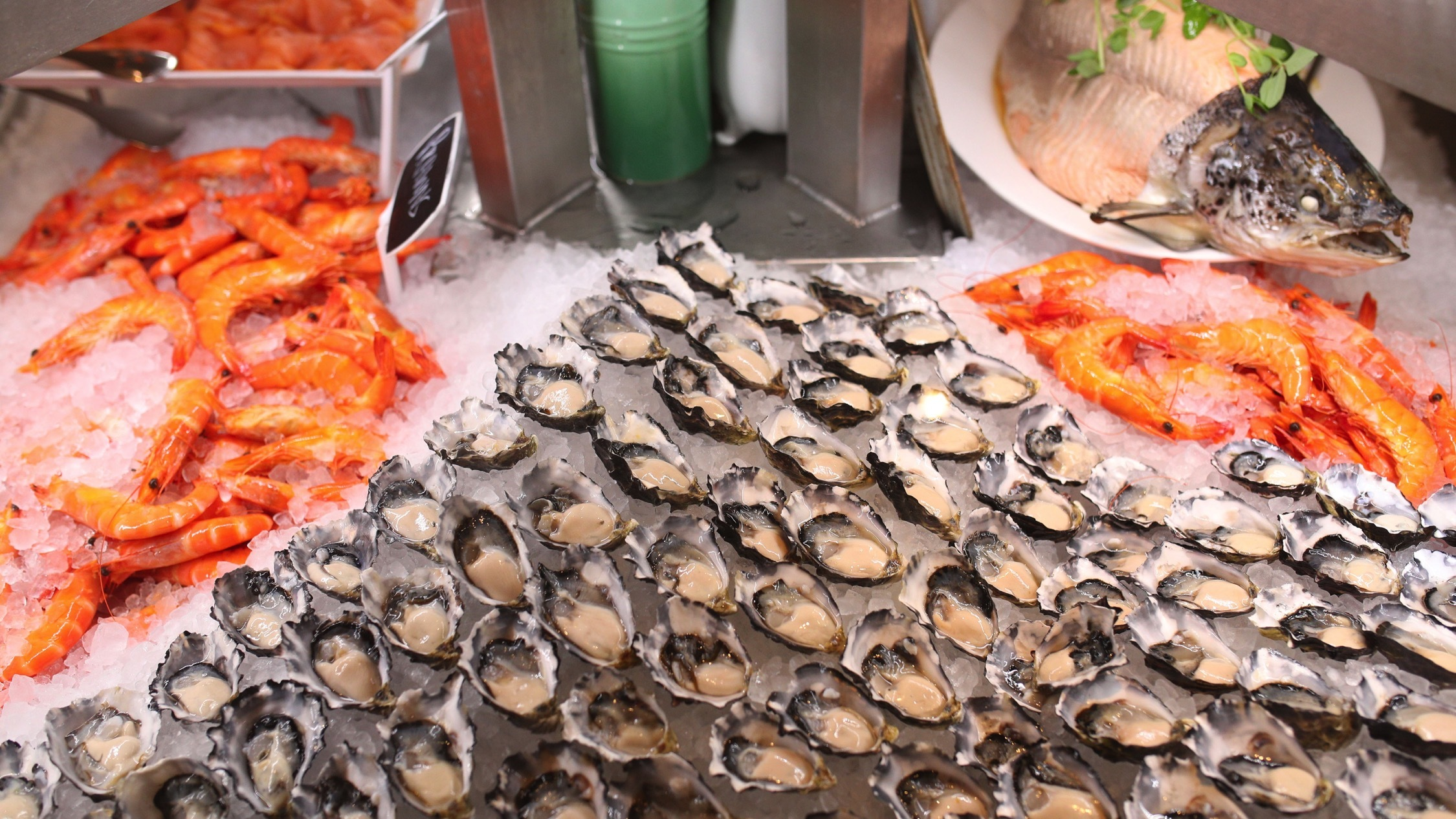 Sea food at Little Collins Kitchen