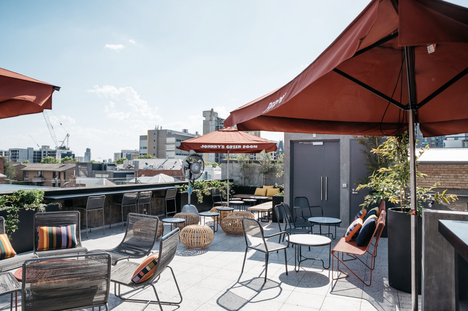 A swanky new rooftop bar for Carlton