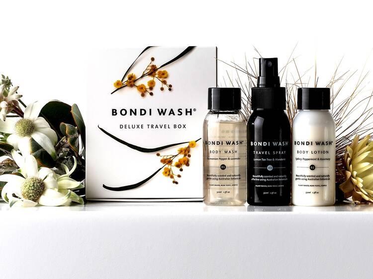 Deluxe travel box from Bondi Wash, $30