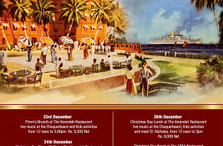 Christmas at Galle Face Hotel