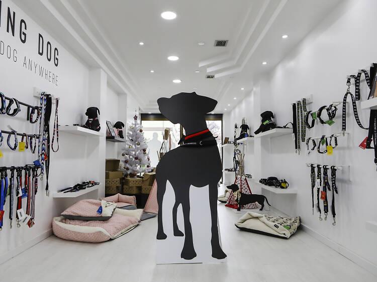 A Walking Dog é uma loja para cães que vende pupcakes