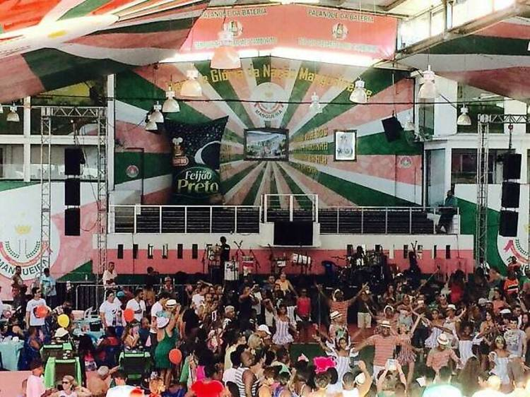 Mangueira's Palacio de Samba