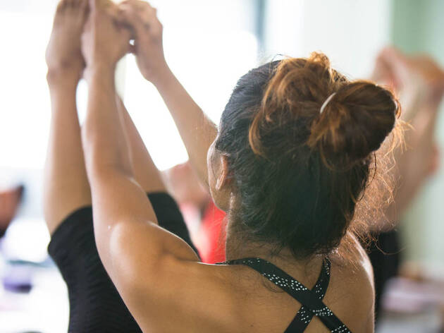 Up to 86% off classes at The Yoga Quarter