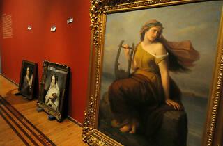 Pinturas de Roma en el Museo Nacional de San Carlos