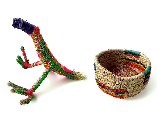 Tjanpi Desert Weavers' goods