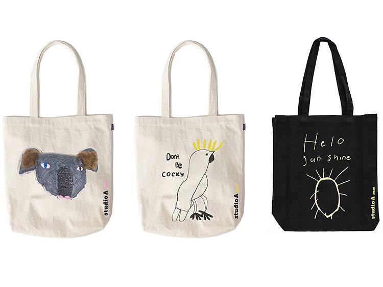 Koala tote bag from Studio A, $45