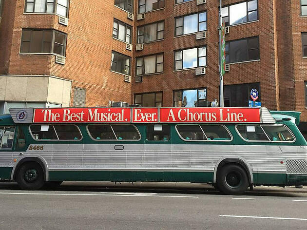 Catch a vintage bus in NYC this month for the holidays