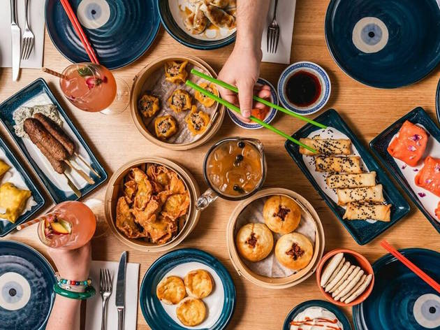 You can now try Greek yum cha at Gazi