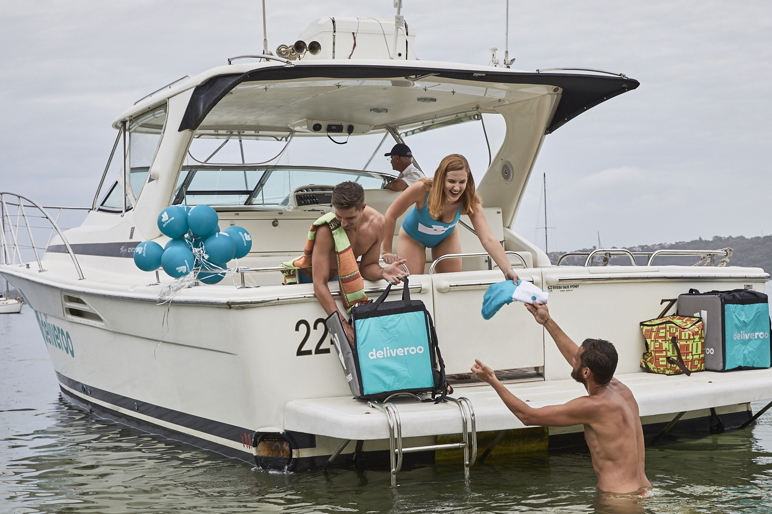 You can score free gelato this weekend, delivered by speedboat