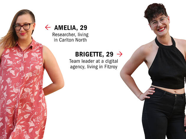 Dating IRL: Amelia and Brigette