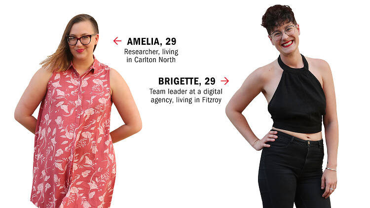 Dating IRL Amelia and Brigette