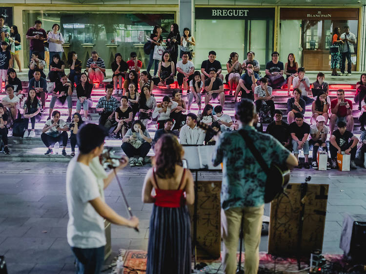 The best street buskers to check out in Singapore