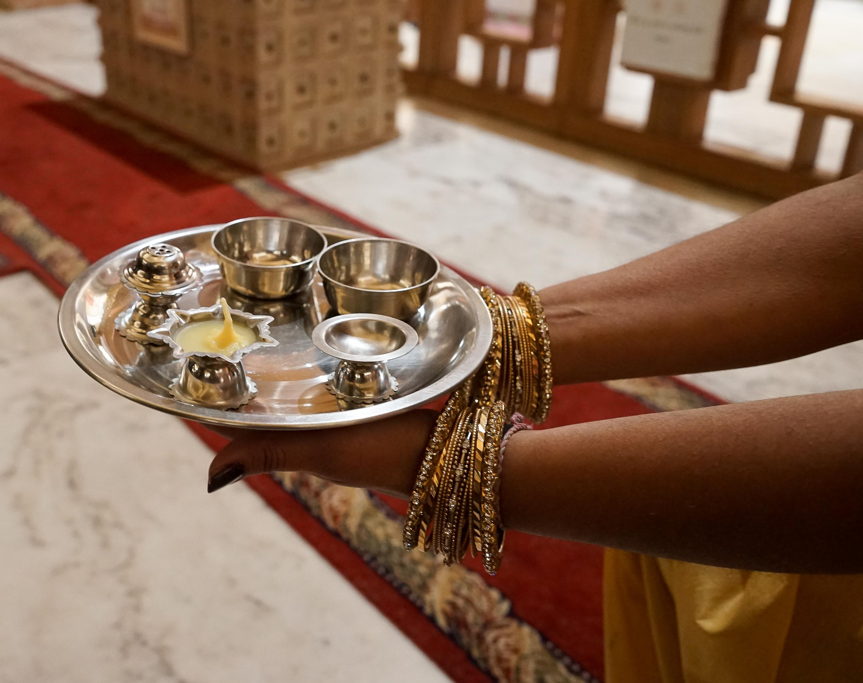 Comunidade Hindu abre portas do Templo para festa de Natal