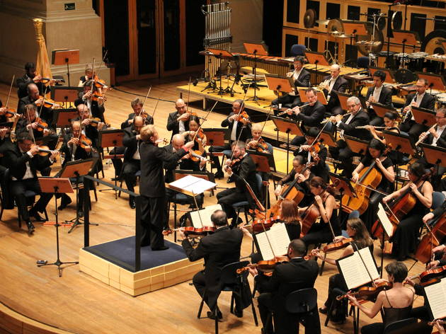 Marin Alsop with the São Paulo Symphony Orchestra