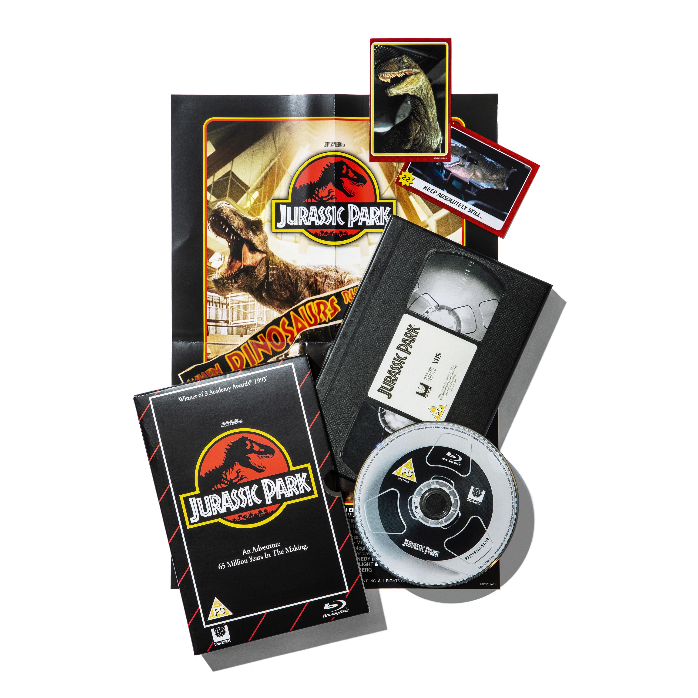 Jurassic Park VHS Blu-ray