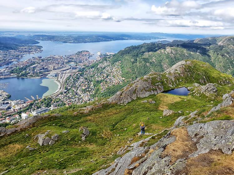 ノルウェー最速のジップラインで遊ぶ。
