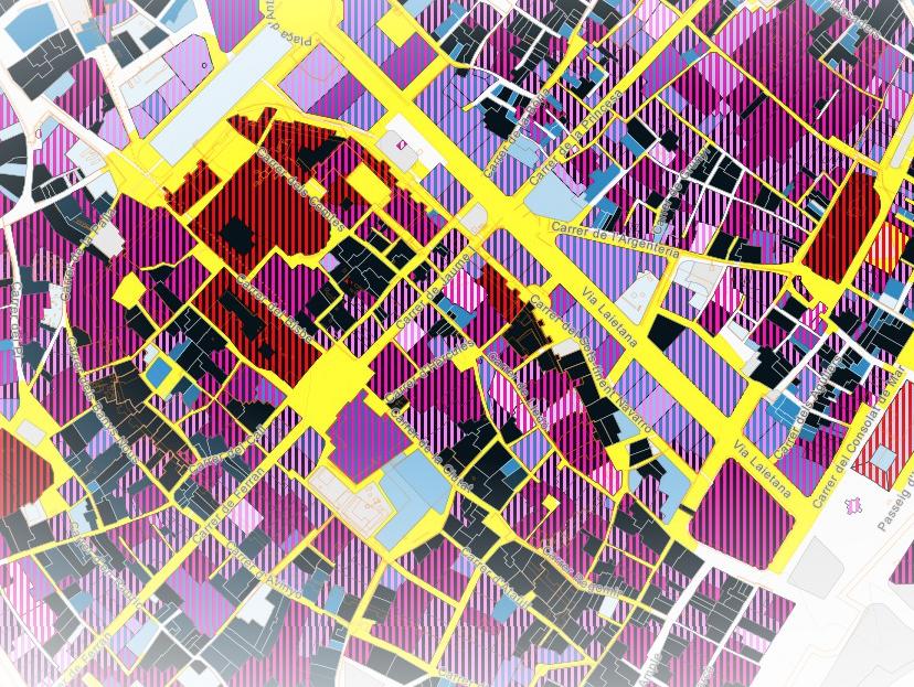 Descobreix l'any de construcció dels edificis de BCN amb aquest mapa