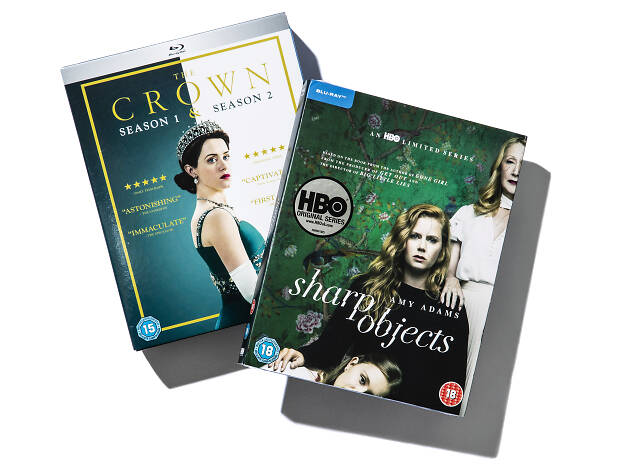 The Crown and Sharp Objects Boxset