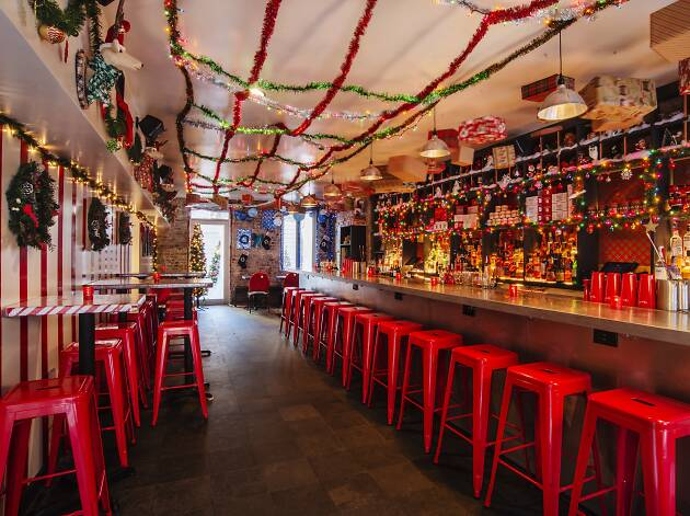 The best holiday bars in NYC