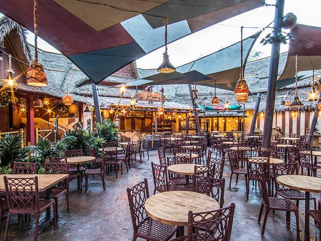 New Disneyland Adventureland tiki restaurant Tropical Hideaway