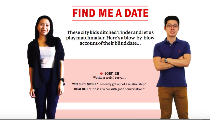 Find me a date: Joey and Rico