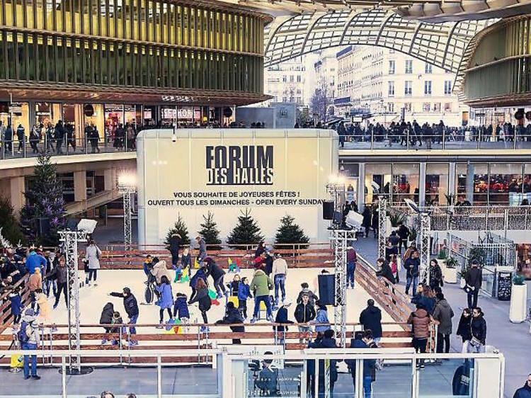 Patinoire Forum des Halles