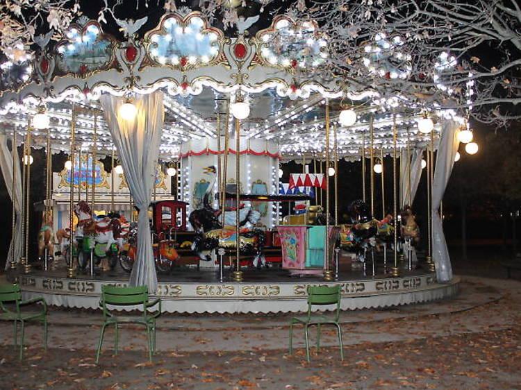 Le carrousel du jardin des Tuileries