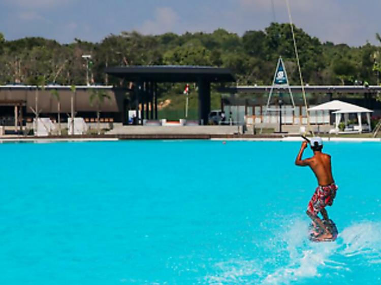 Have a splash at Crystal Lagoon at Treasure Bay Bintan