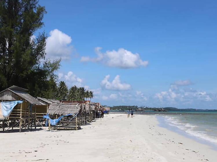Soak up the sun at Trikora Coast