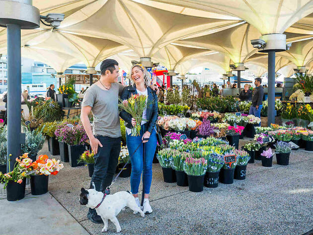 Entertainment Quarter flower market