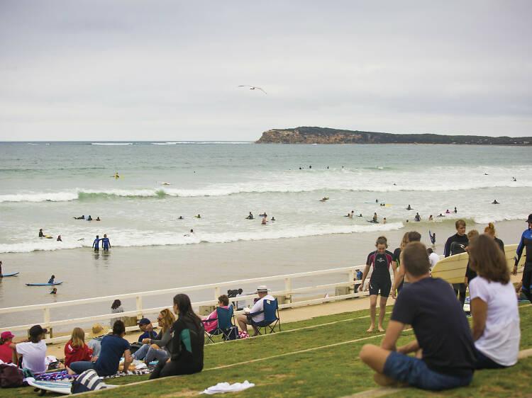Swim or surf Ocean Grove