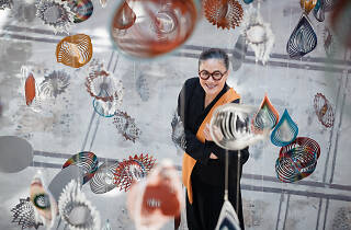 Kylie Kwong at Carriageworks through Nick Cave's artwork