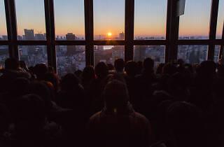 東京タワー初日の出