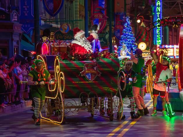 4 reasons to spend Christmas at Universal Studios Singapore