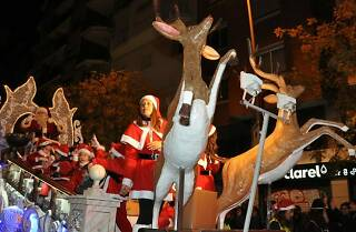 Cavalcada del Pare Noel a Sants