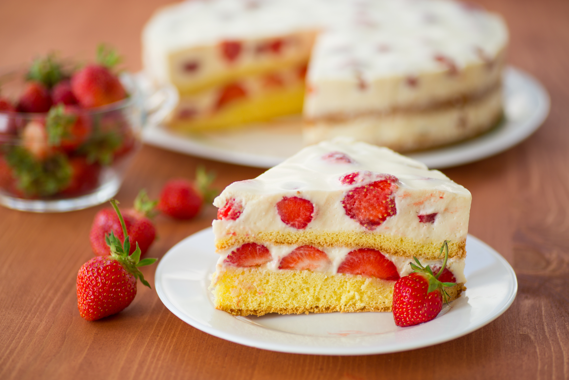 Strawberry cake generic