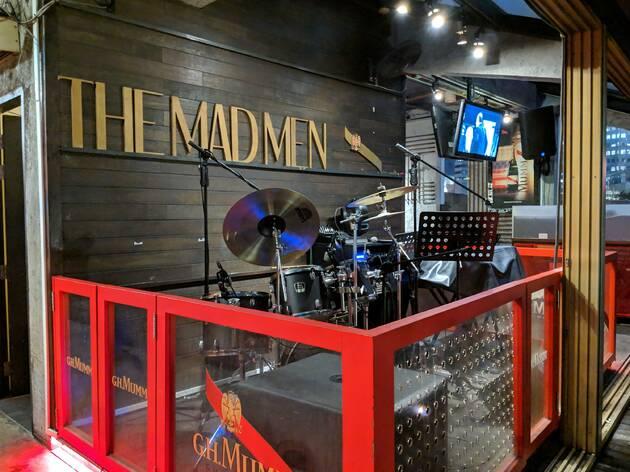 The Mad Men Attic Bar